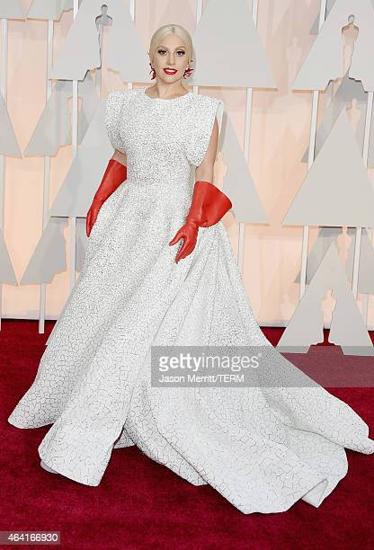 Recording artist Lady Gaga attends the 87th Annual Academy Awards at Hollywood & Highland Center on February 22, 2015 in Hollywood, California.