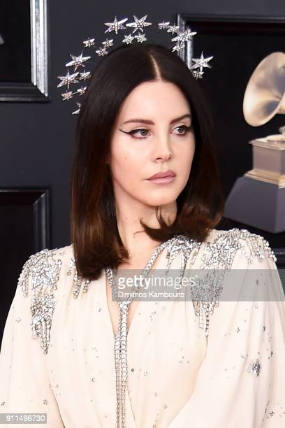 Recording artist Lana Del Rey attends the 60th Annual GRAMMY Awards at Madison Square Garden on January 28 2018 in New York City