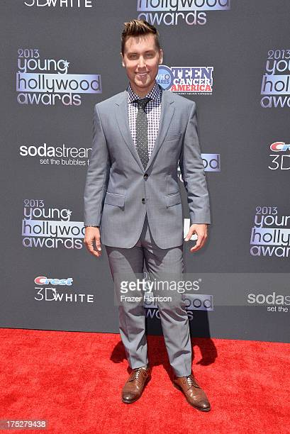 Recording Artist Lance Bass attends CW Network's 2013 Young Hollywood Awards presented by Crest 3D White and SodaStream held at The Broad Stage on...