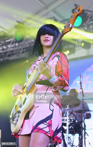 Recording artist Laura Lee of Khruangbin performs onstage at This Tent during Day 2 of the 2017 Bonnaroo Arts And Music Festival on June 9 2017 in...