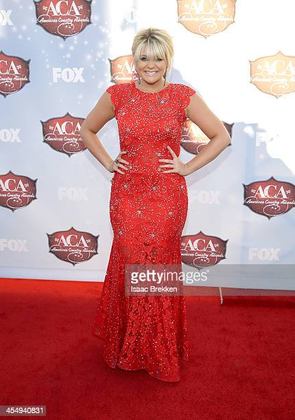 Recording artist Lauren Alaina arrives at the American Country Awards 2013 at the Mandalay Bay Events Center on December 10 2013 in Las Vegas Nevada
