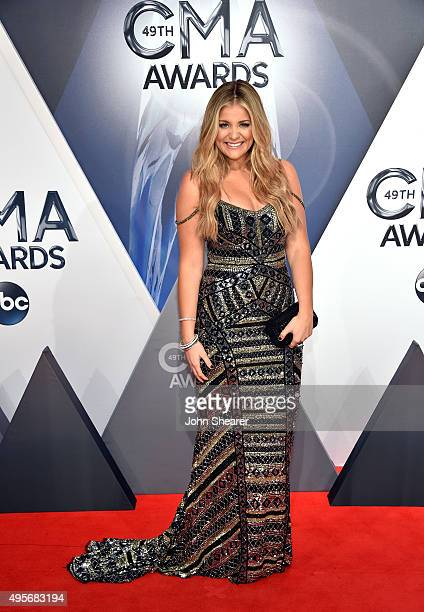 Recording artist Lauren Alaina attends the 49th annual CMA Awards at the Bridgestone Arena on November 4, 2015 in Nashville, Tennessee.