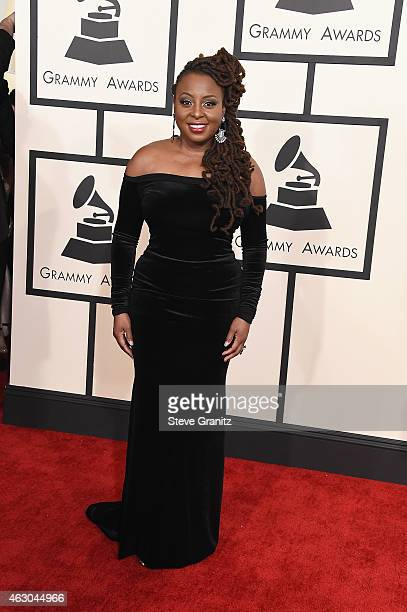Recording artist Ledisi attends The 57th Annual GRAMMY Awards at the STAPLES Center on February 8 2015 in Los Angeles California