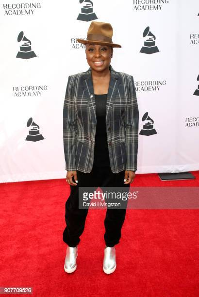 Recording artist Ledisi attends the GRAMMY nominee reception honoring 60th Annual GRAMMY Awards nominees at Fig Olive on January 20 2018 in West...