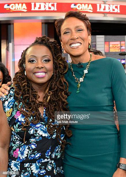 AMERICA Recording artist Ledisi performs live on GOOD MORNING AMERICA 3/17/15 airing on the ABC Television Network