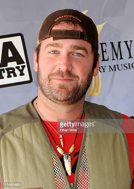 Recording artist Lee Brice attends the NRA Country/ACM Celebrity Shoot hosted by Blake Shelton at Nellis Air Force Base on April 2 2011 in Las Vegas...