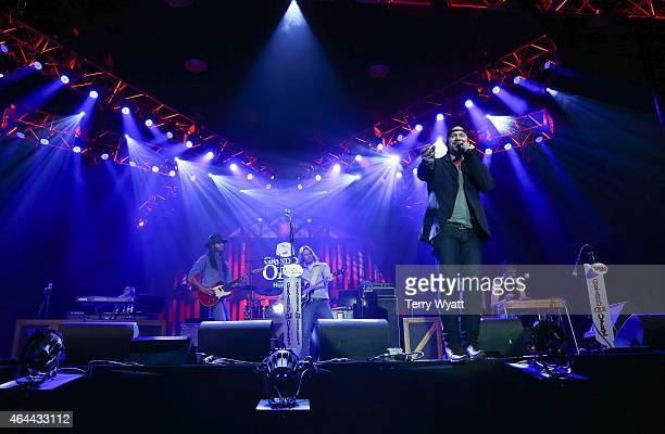 Recording Artist Lee Brice performs during The Grand Ole Opry at CRS 2015 on February 25 2015 in Nashville Tennessee