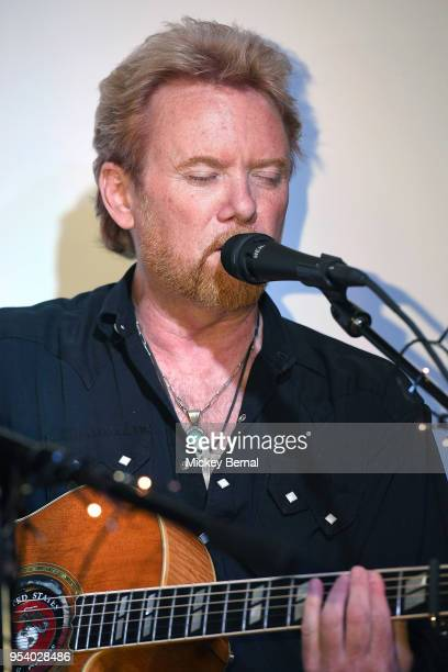 Recording Artist Lee Roy Parnell performs in the round at South On Demonbreun on May 2 2018 in Nashville Tennessee