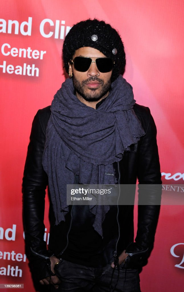 Recording artist Lenny Kravitz arrives at the Keep Memory Alive foundation's 'Power of Love Gala' celebrating Muhammad Ali's 70th birthday at the MGM Grand Garden Arena February 18, 2012 in Las Vegas, Nevada. The event benefits the Cleveland Clinic Lou Ruvo Center for Brain Health and the Muhammad Ali Center.