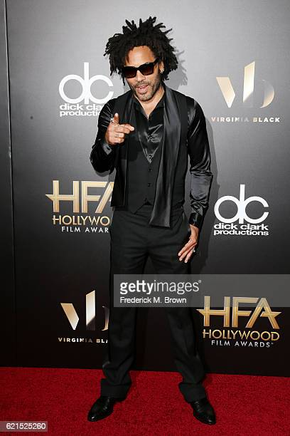 Recording artist Lenny Kravitz attends the 20th Annual Hollywood Film Awards on November 6 2016 in Beverly Hills California