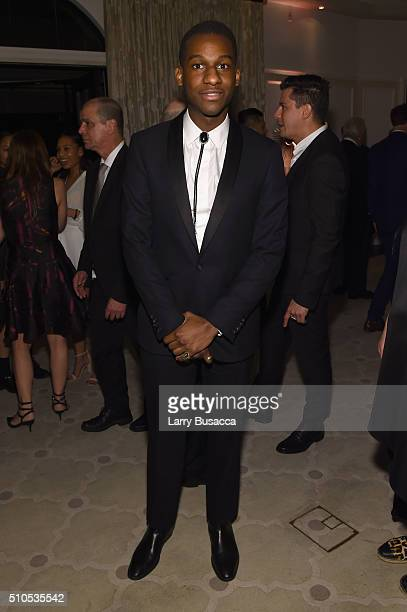 Recording artist Leon Bridges attends Sony Music Entertainment 2016 PostGrammy Reception at Hotel Bel Air on February 15 2016 in Los Angeles...