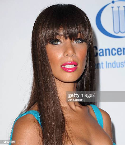 Recording artist Leona Lewis arrives at 'An Unforgettable Evening' Benefit For EIF Women's Cancer Research Fund at the Beverly Wilshire Four Seasons...