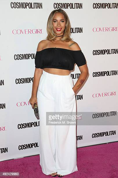 Recording artist Leona Lewis attends Cosmopolitan's 50th Birthday Celebration at Ysabel on October 12 2015 in West Hollywood California