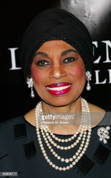 Recording artist Leontyne Price attends Oprah Winfrey's Legends Ball at the Bacara Resort and Spa on May 14 2005 in Santa Barbara California