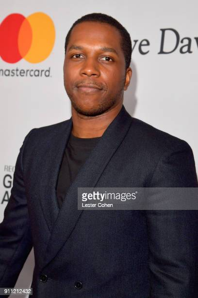 Recording artist Leslie Odom Jr attends the Clive Davis and Recording Academy PreGRAMMY Gala and GRAMMY Salute to Industry Icons Honoring JayZ on...