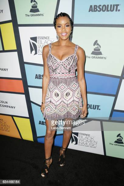 Recording artist LeToya Luckett attends 2017 Essence Black Women in Music at NeueHouse Hollywood on February 9 2017 in Los Angeles California