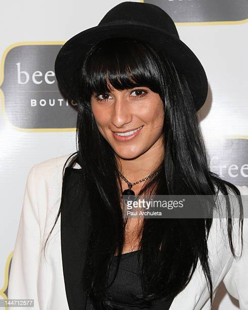 Recording Artist Lexy Panterra attends the Bee Free Boutique grand opening at the Bee Free Boutique on May 17 2012 in Los Angeles California