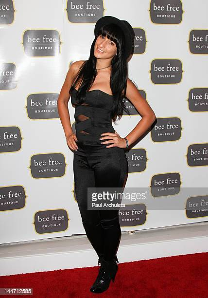Recording Artist Lexy Panterra attends the Bee Free Boutique grand opening at the Bee Free Boutique on May 17, 2012 in Los Angeles, California.