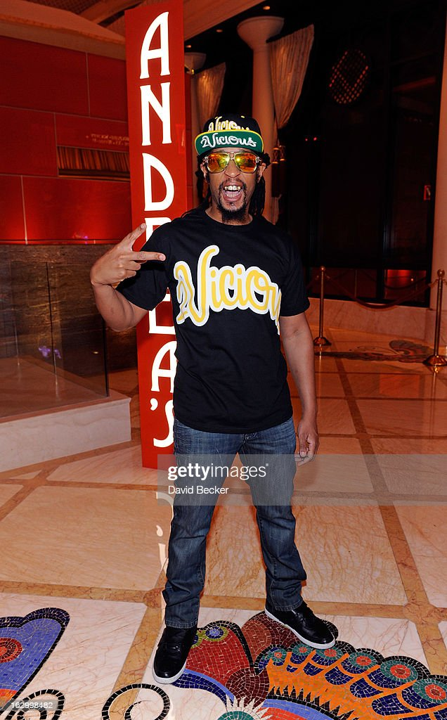 Recording artist Lil' Jon arrives at Andrea's at Encore Las Vegas to celebrate the season premiere of 'All-Star Celebrity Apprentice' on March 2, 2013 in Las Vegas, Nevada.