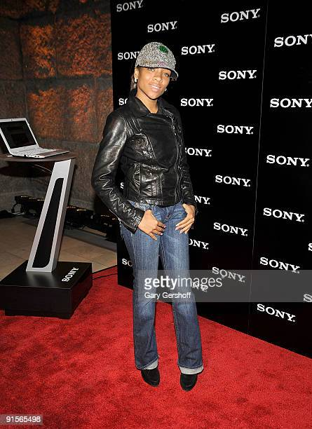 Recording artist Lil' Mama attends a launch celebration for three new VAIO products and the Windows 7 operating system at Guastavino's on October 7...