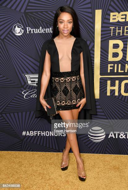 Recording Artist Lil Mama attends BET Presents the American Black Film Festival Honors on February 17 2017 in Beverly Hills California