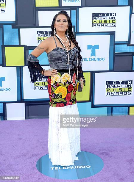 Recording artist Lila Downs attends the 2016 Latin American Music Awards at Dolby Theatre on October 6 2016 in Hollywood California