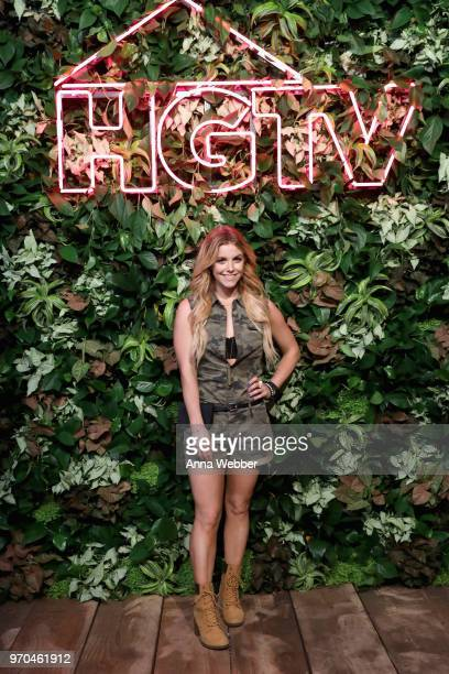 Recording artist Lindsay Ell attends the HGTV Lodge at CMA Music Fest on June 9 2018 in Nashville Tennessee