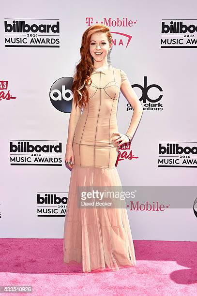 Recording artist Lindsey Stirling attends the 2016 Billboard Music Awards at TMobile Arena on May 22 2016 in Las Vegas Nevada