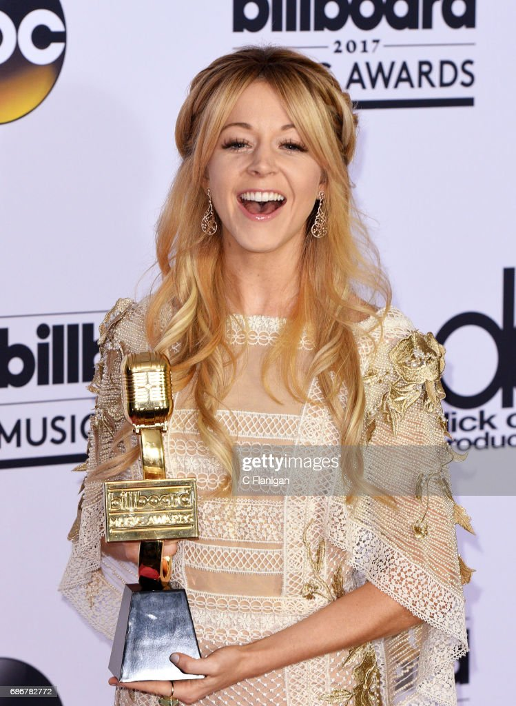 Recording artist Lindsey Stirling, winner of Top Dance/Electronic Album award for 'Brave Enough,' attends the 2017 Billboard Music Awards at T-Mobile Arena on May 21, 2017 in Las Vegas, Nevada.