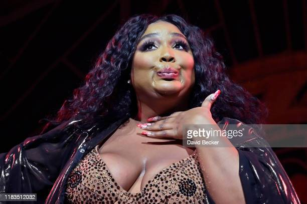 Recording artist Lizzo performs at The Chelsea at The Cosmopolitan of Las Vegas on October 25, 2019 in Las Vegas, Nevada.