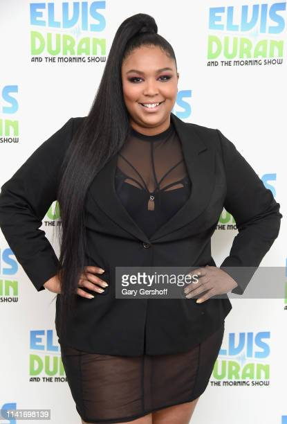 Recording artist Lizzo visits 'The Elvis Duran Z100 Morning Show' at Z100 Studio on April 10, 2019 in New York City.