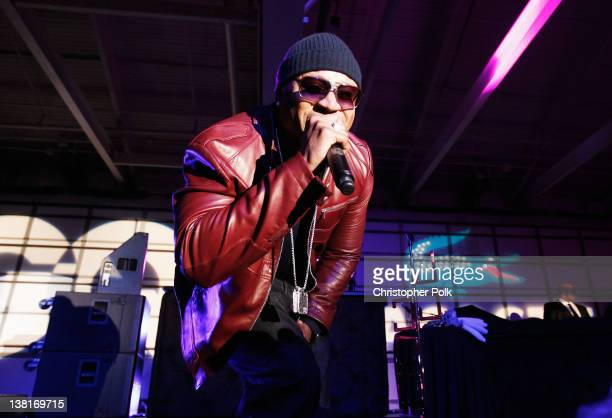 Recording artist LL Cool J performs onstage at GQ Lacoste And Patron Tequila Celebrate The Super Bowl In Indianapolis at The Stutz Building on...