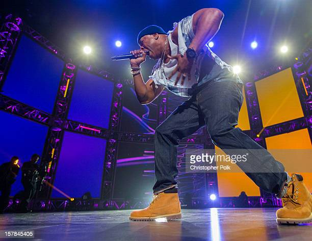 Recording Artist LL Cool J performs onstage at The GRAMMY Nominations Concert Live held at Bridgestone Arena on December 5 2012 in Nashville Tennessee