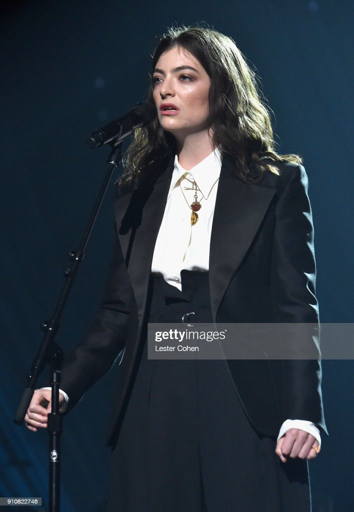 60th Annual GRAMMY Awards - MusiCares Person Of The Year Honoring Fleetwood Mac - Inside : Nachrichtenfoto