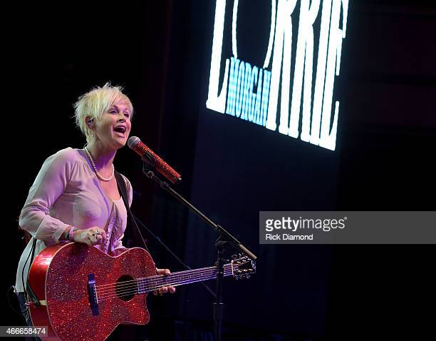 Recording Artist Lorrie Morgan performs during I Am A Woman Benefit Concert to honor longtime music industry veteran Debbie Ballentine at Wildhorse...