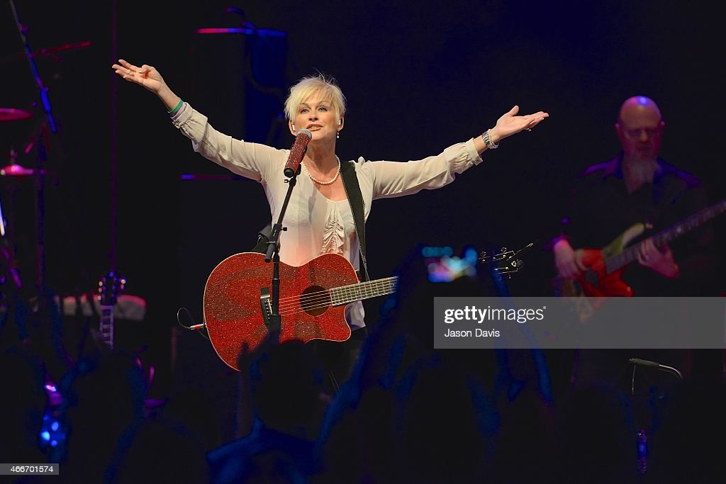 Recording Artist Lorrie Morgan performs during the I Am A woman Benefit concert honoring Debbie Ballentine at Wildhorse Saloon on March 17, 2015 in Nashville, Tennessee.