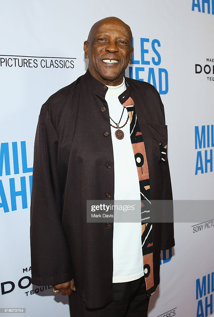 "Premiere Of Sony Pictures Classics' ""Miles Ahead"" - Red Carpet : News Photo"