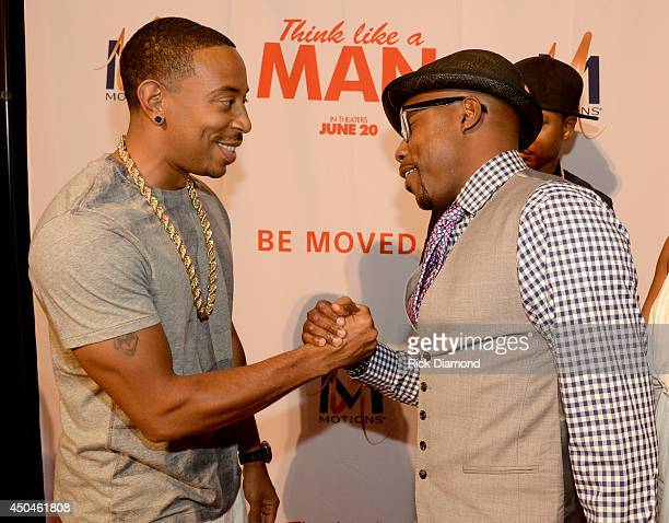 Recording Artist Ludacris and Producer Will Packer attend Sony Pictures' THINK LIKE MAN TOO Atlanta Red Carpet Screening With Kevin Hart LaLa Anthony...