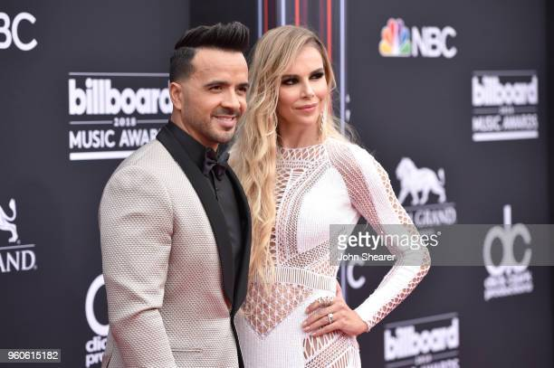 Recording artist Luis Fonsi and Agueda Lopez attend the 2018 Billboard Music Awards at MGM Grand Garden Arena on May 20 2018 in Las Vegas Nevada