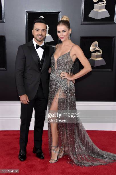 Recording artist Luis Fonsi and Agueda Lopez attend the 60th Annual GRAMMY Awards at Madison Square Garden on January 28 2018 in New York City