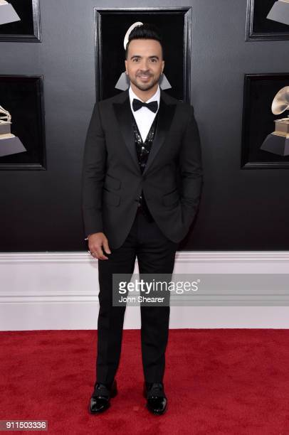Recording artist Luis Fonsi attends the 60th Annual GRAMMY Awards at Madison Square Garden on January 28 2018 in New York City
