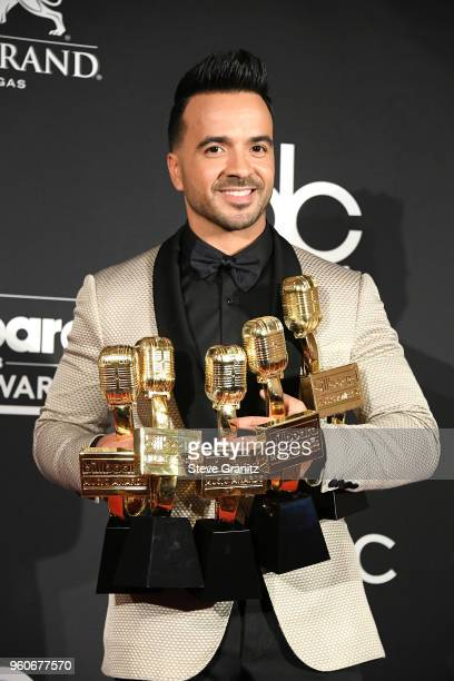 Recording artist Luis Fonsi winner of Top Selling Song award Top Streaming Song Video award Top Latin Song award and Top Hot 100 Song award for...