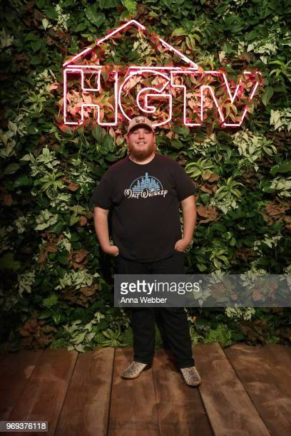 Recording artist Luke Combs attends the HGTV Lodge at CMA Music Fest on June 7 2018 in Nashville Tennessee