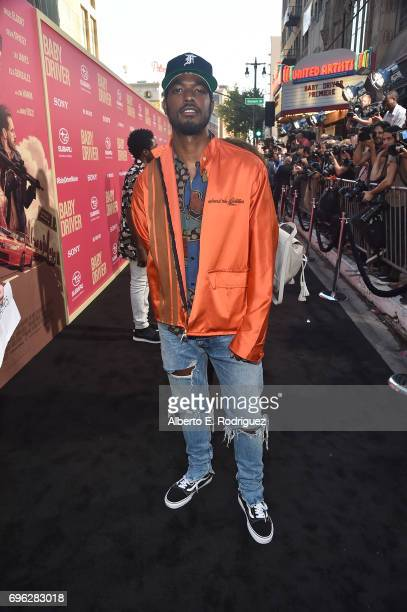 Recording artist Luke James attends the premiere of Sony Pictures' 'Baby Driver' at Ace Hotel on June 14 2017 in Los Angeles California