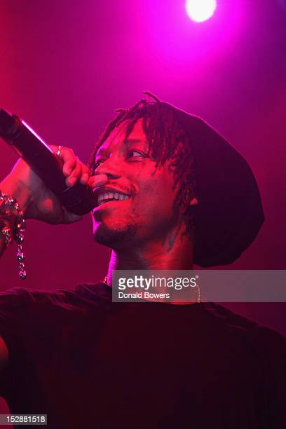 Recording Artist Lupe Fiasco performs for fans at the Samsung Galaxy S III Album Release party for 'Food Liquor 2 Great American Rap'at Cedar Lake in...