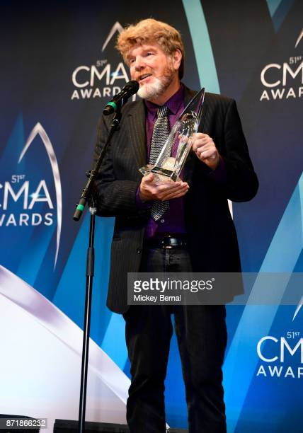 Recording artist Mac McAnally attends the 51st annual CMA Awards at the Bridgestone Arena on November 8 2017 in Nashville Tennessee
