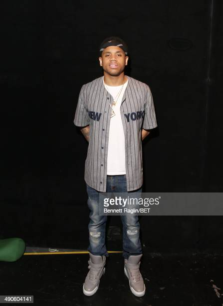 Recording artist Mack Wilds visits 106 Park at BET studio on May 14 2014 in New York City