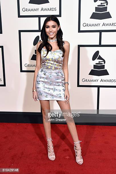 Recording artist Madison Beer attends The 58th GRAMMY Awards at Staples Center on February 15 2016 in Los Angeles California