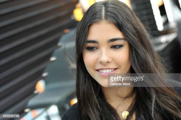 Recording artist Madison Beer attends the MAC Cosmetics Orlando Store Opening at MAC Cosmetics Store at The Florida Mall on August 7 2014 in Orlando...