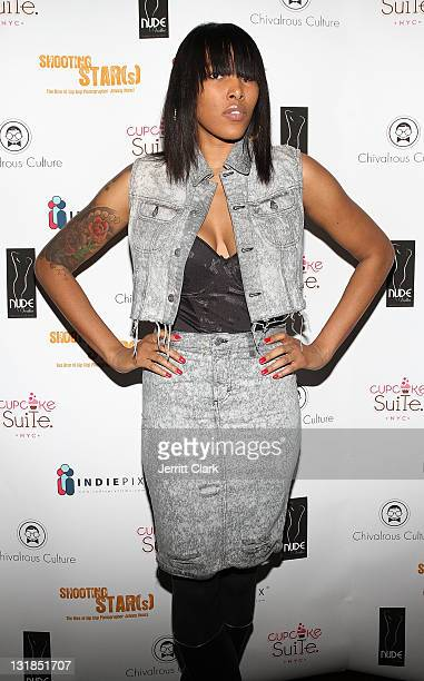 Recording artist Malene Younglao attends the Shooting Star The Rise of Hip Hop Photographer Johnny Nunez DVD release party at Veranda on December 8...